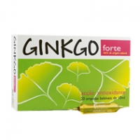Ginkgo Forte 20 Ampolas